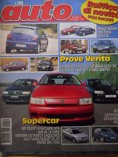 Auto n°10 1995 - Test Audi A4 1.8 Turbo - Auto tuning Peugeot 205    [Q41]