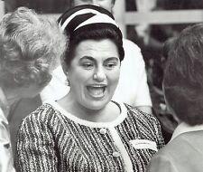 1971 Wire Photo Yugoslavia First Lady Jovanka Broz Mrs. Josip Tito Washington DC
