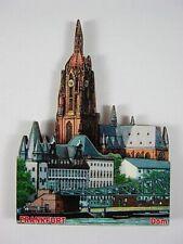 Frankfurt Dom,3D großer Holz Magnet,Souvenir Germany Deutschland