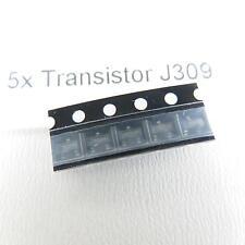 5x transistor j309 unipolar N-JFET 25v 30ma SMD sot23