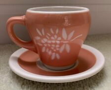 "Illinois Central ""Coral"" cup and saucer"
