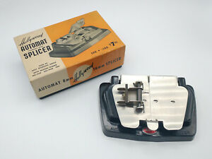 Vintage Hollywood Automat Stainless Steel Splicer For 8-16mm Film w/Original Box