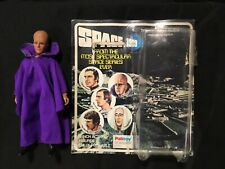 Vintage Original PALITOY Mego Space 1999 MYSTERIOUS ALIEN Figure + CARD BACK
