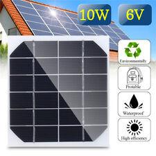 5Pcs 10W 6V Mini Solar Panel Cell Power Module Battery Toys Charger Light DIY