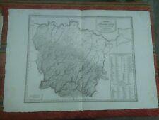 1844 Zuccagni-Orlandini Carta dei Ducati di Parma Piacenza Guastalla Mappa