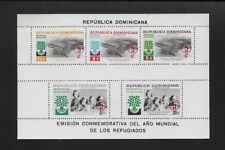 DOMINICANA 1960 World Refugee Year Fund Surcharged ** MNH