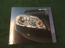 ORIGINAL MINT CHEVROLET 2007 CHEVY IMPALA 30 PAGE SALES BROCHURE NEW BOX 795