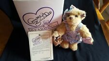 """Annette Funicello """"Sea Shell Shelley"""" 12"""" Bear w/ stand"""