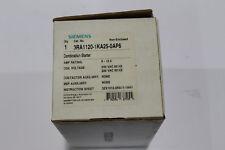 SIEMENS 3RA1120-1KA25-0AP6 MANUAL MOTOR STARTER - MSP & CONTACTOR 9-12.5A, 240V