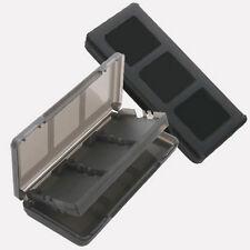 6 in 1 Black Game Case Holder Cartridge Box For Nintendo DS Lite DSi XL LL BT