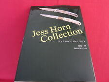 Jess Horn Collection Japanese Perfect Knife Collection Book