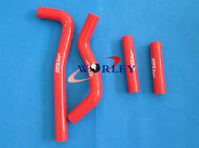 For Honda CRF150R CRF150 2007-2013 08 09 10 11 12 13 Silicone Radiator Hose RED