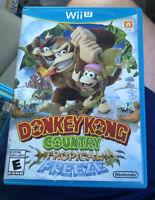 Donkey Kong Country: Tropical Freeze - Wii U - Complete - Manual - wit Manual