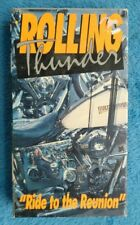ROLLING THUNDER VHS Tape Harley Davidson 90th Anniversary 1993 Motorcycle