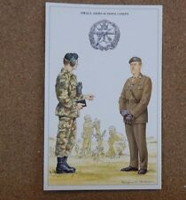 Military Uniforms Postcard Small Arms School Corps Unposted