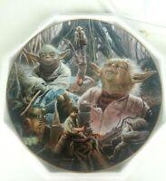 Yoda 1998 Star Wars Vintage Hamilton collection plate 2659B