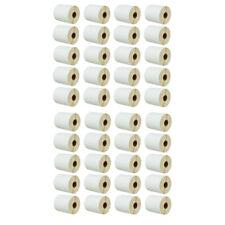 40 Rolls 750 Labels 4x2 Direct Thermal For Zebra Lp2824 Lp2844 Tlp2824 Tlp2844