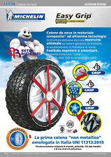 Michelin Easy Grip CATENE DA NEVE G12 185/55-15 195/50-15 175/65-14 175/70-14