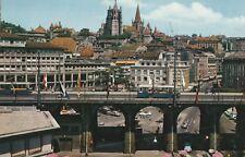 AK Lausanne - Le Grand Pont et la Cathédrale
