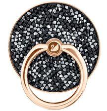 Swarovski Black and Rose Gold-Tone Glam Rock Ring Sticker - 5457469