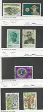 Sri Lanka, Postage Stamp, #638-9, 641-2, 677, 727-3 Used, 1982-84