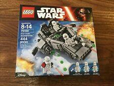 LEGO Star Wars 75100 First Order Snowspeeder New Sealed Minor Box Wear