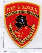Alaska - King Cove Fire & Rescue AK Fire Dept Patch