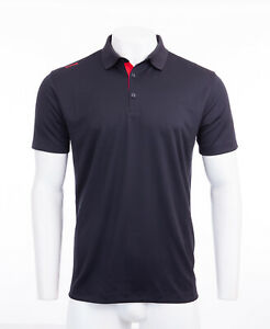 Ping Men's Golf Polo Shirt Sensor Cool Black Large