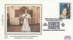 (63460) GB Benham FDC  Queen Mother 80th Clarence House St James Palace 1980