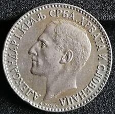 1 Dinar Stück von 1925 Serbien Alexander I. Münze
