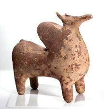 Large Ancient Near Eastern Amlash Pottery Bull Rhyton.