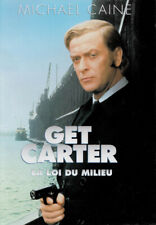 GET CARTER CLASSIC ENGLISH GANGSTER A3 FILM POSTER REPRINT STARS MICHAEL CAINE