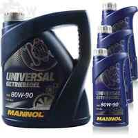 7 Liter Original MANNOL Getriebeöl UNIVERSAL Getriebeoel 80W-90 API GL 4