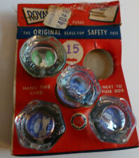 Vintage Royal Electric Co safety fuses