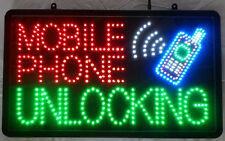 LED MOBIL PHONE UNLOCKING SIGN