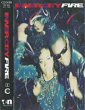 INNER CITY FIRE CASSETTE ALBUM Electronic House, Techno Ten Records