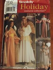 Simplicity 7033 NEW UNCUT Holiday Christmas angel sewing pattern sz L-XL