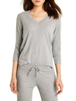 Wildfox Womens Leroy WHG173000 Top Relaxed HTHR Grey Size S