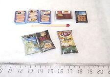 8 Miniatures Aliments factices Maison Poupée Vitrine Doll House Food Barbie 1/12
