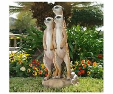 Db32136 - The Meerkat Gang Statue - Garden, Yard - New!