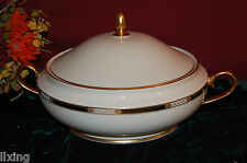 LENOX Hancock Gold Covered Vegetable Bowl NEW in Box USA 6042444