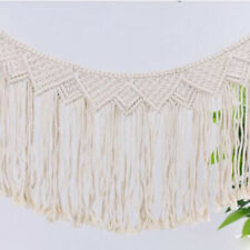Boho Chic Wall Hanging Tapestry Cotton Rope Bohemian Tapestry Art Home Decor 6L
