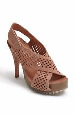 Pedro Garcia Caitlyn Perforated Sandals Size 35