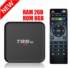 T95M Android 6.0 Smart TV Box - Amlogic S905X Quad Core 4K HD 2GB+8GB 2.4GHz