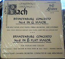 Bach/Barchet/Munchinger   Brandenburg Concertos  4 & 6    London