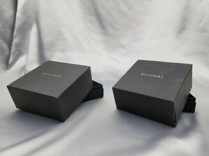 Genuine Bvlgari Empty Watch Box  2 Set Booklet Warranty 210602015 P246N