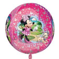 Minnie Mouse Rosa Disney Orbz Globo 38cm x 40cm forma de bola metalizado