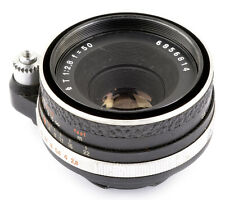 For Exakta: T (Zeiss Tessar) 1:2,8 f=50 No.6856814 JENA ! NOT CLEAN CONDITION !