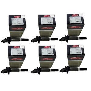 For BMW E82 F30 E90 E92 E93 330xi X3 X6 Set of 6 Delphi Direct Ignition Coils