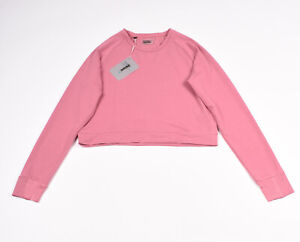 Gymshark Solace Dusky Pink Women Workout Sweater 2.0 Size S NEW